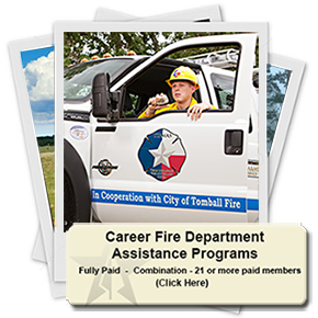 Career Fire Department Assistance Programs