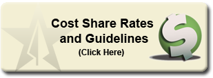 Cost Share Rates and Guidelines