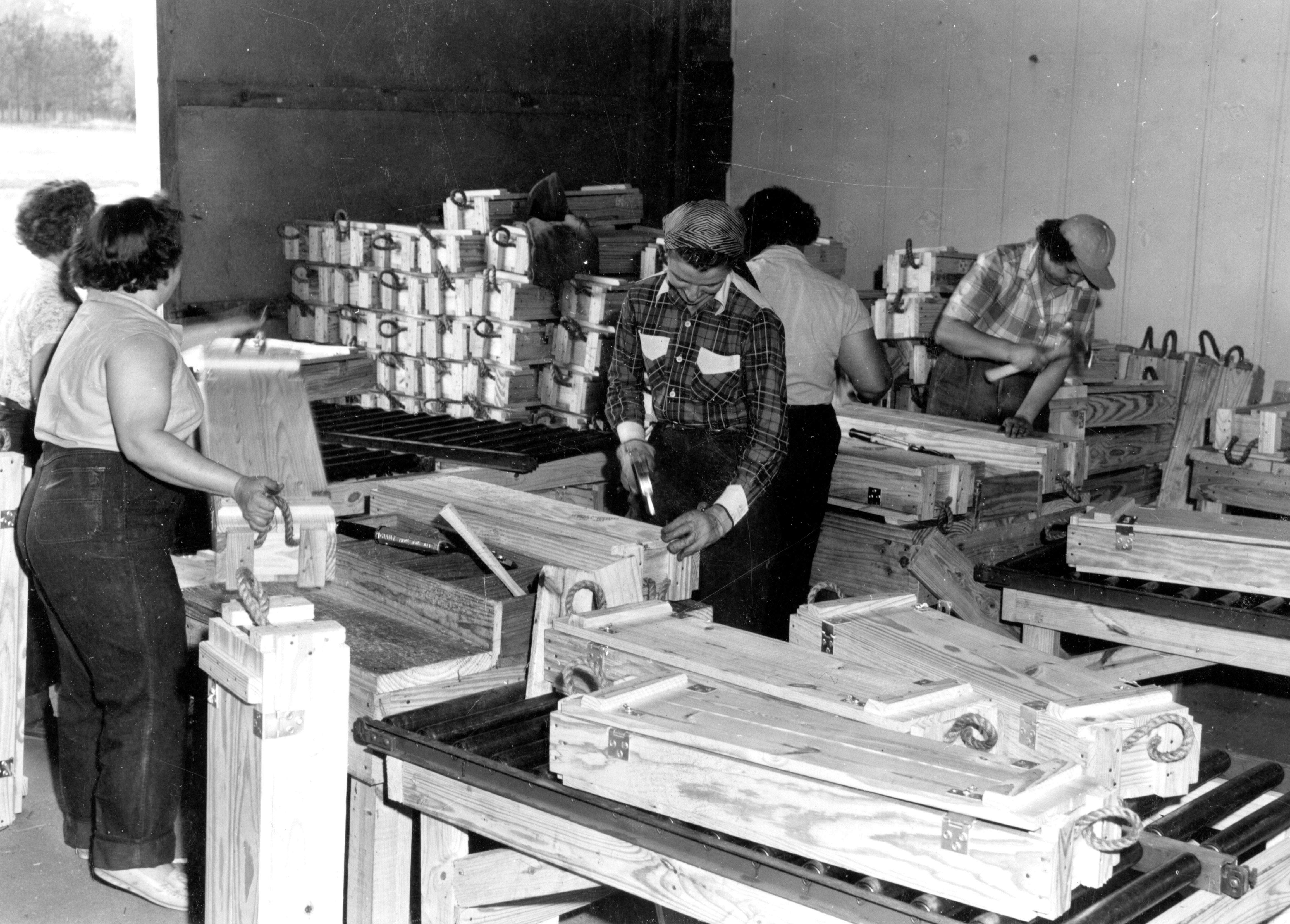 Lumber for the Army 1941