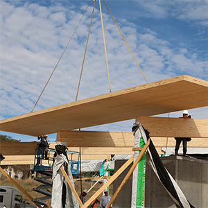 Southern Yellow Pine cross-laminated timber (CLT) debuts in Texas