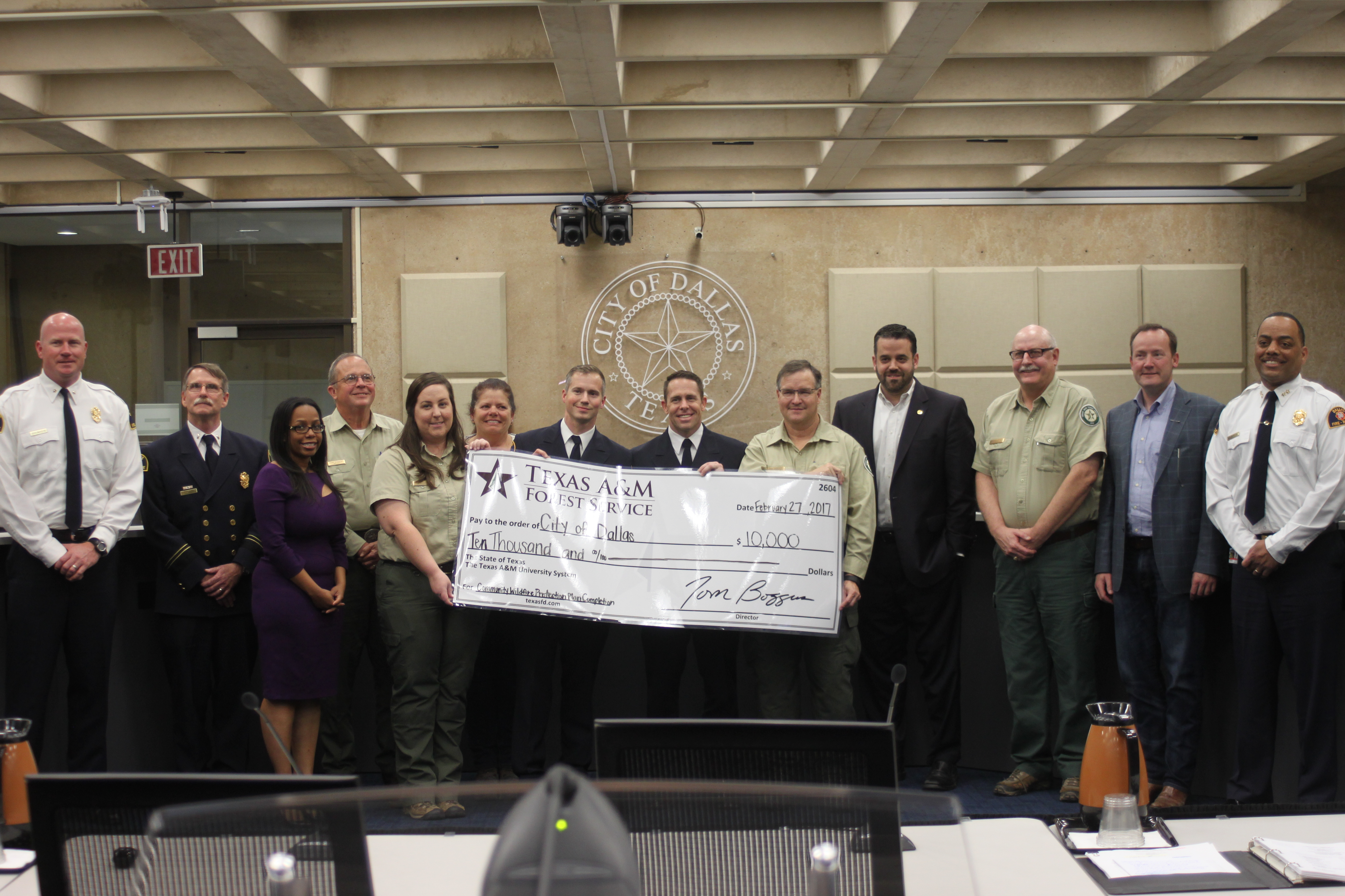 <p>The city of Dallas has developed a plan to reduce risks and better prepare for wildfires. 