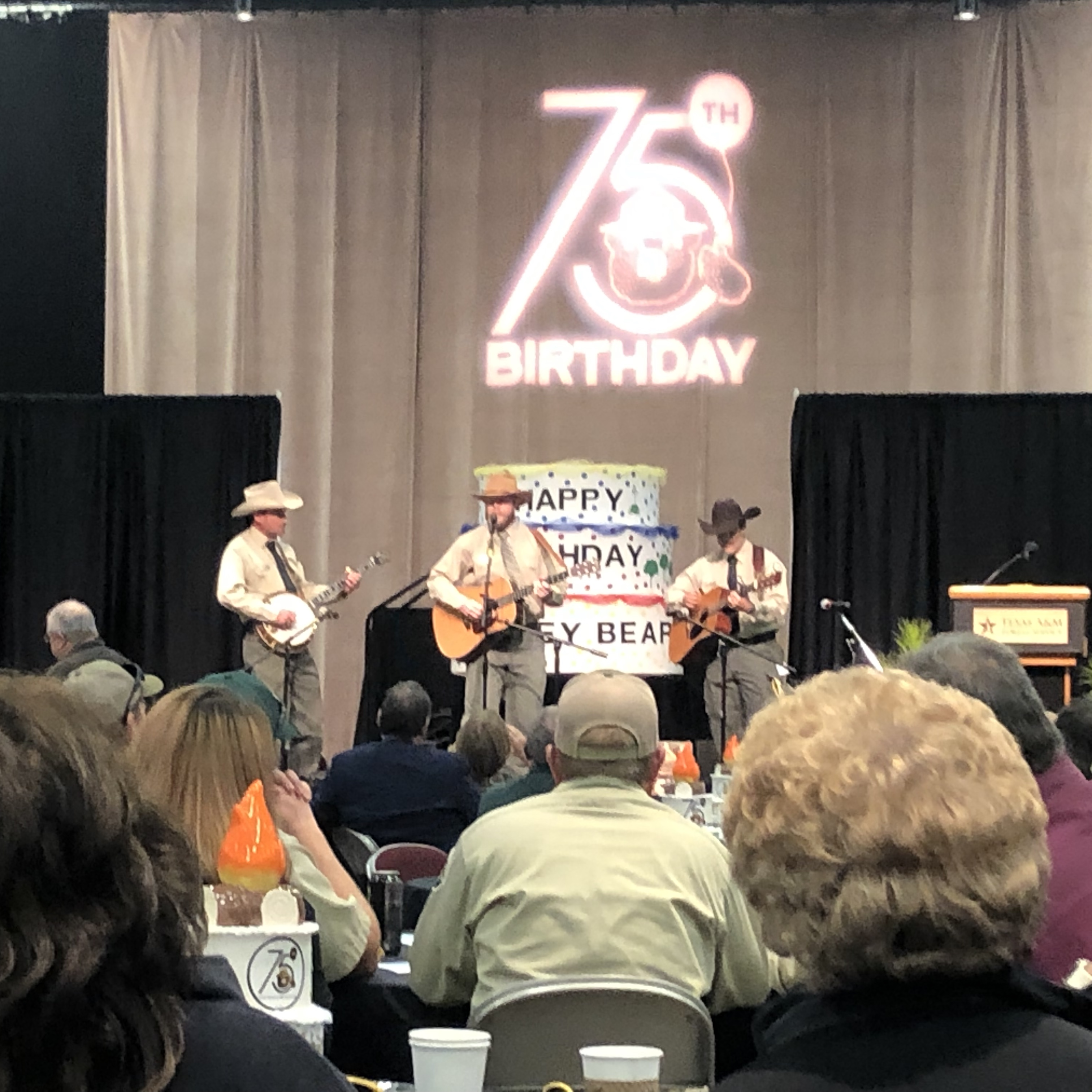 Texas A&M Forest Service employees gathered in Temple, Texas at the Frank W. Mayborn Civic and Convention Center. Each year, agency employees meet to reflect on the last year's progress and plan for the future.