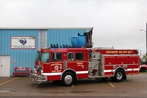<p>   Dec. 6, 2017 — PORT ARANSAS, Texas — Port Aransas Volunteer Fire Department received a fire truck today, donated by the Philomont Volunteer Fire Department from Virginia.</p>