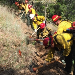 Texas wildfire handcrew receives honorable mention in national challenge