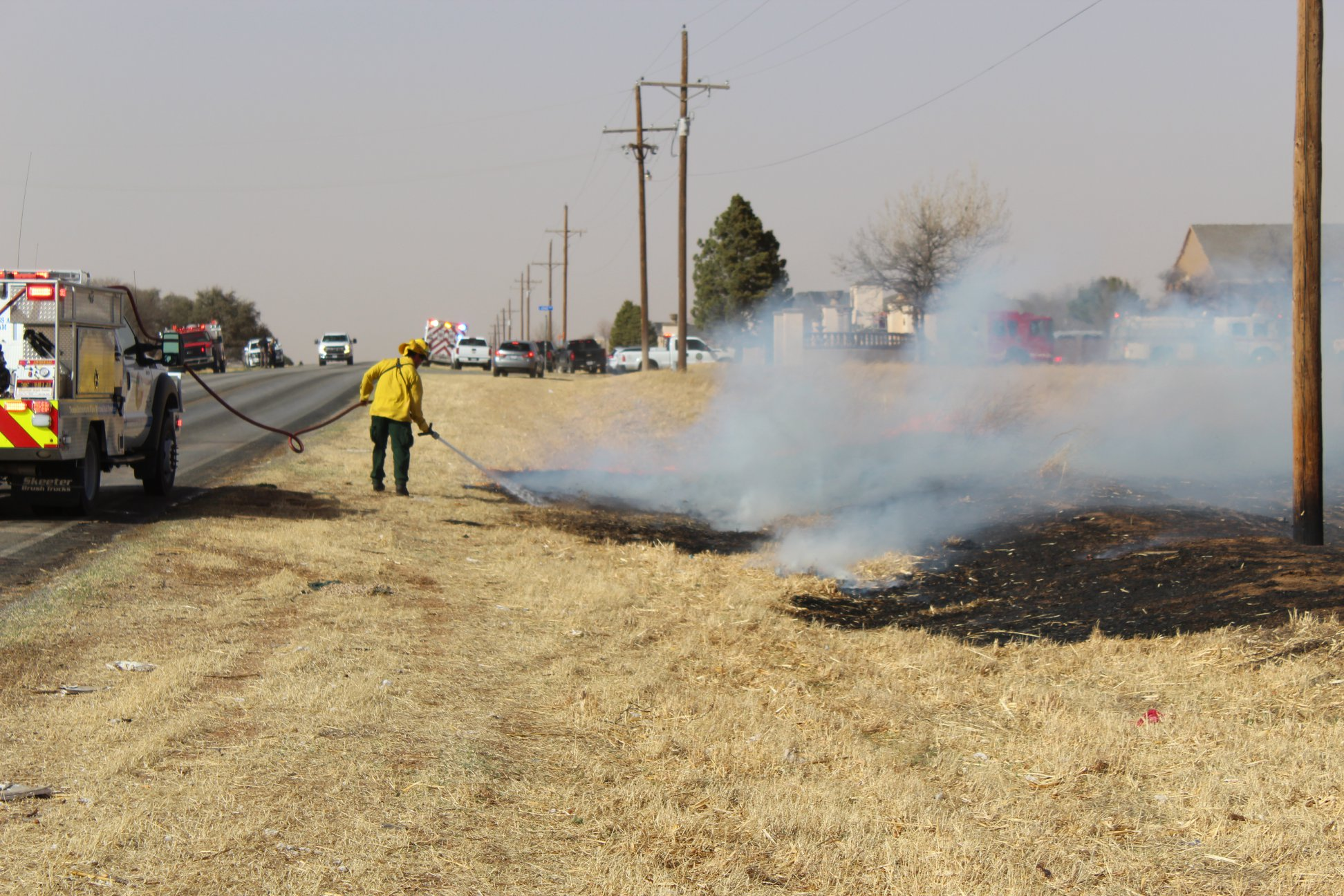<p>Fire departments from across the state have provided