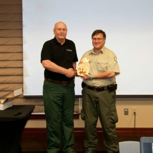 Texas A&M Forest Service employee honored for fire prevention