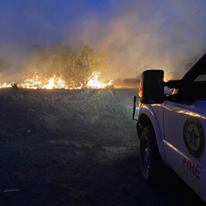 Potential for increased wildfire activity statewide as Texas moves into late summer fire season