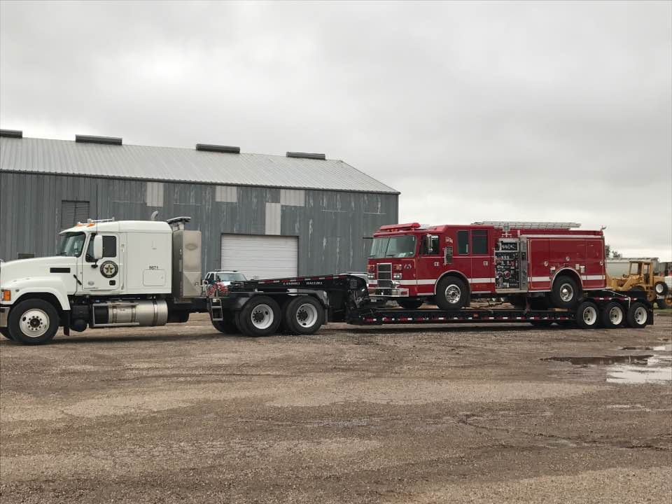 Hurricane-damaged Port Aransas Fire Department to receive fire truck on emergency loan from Texas A&M Forest Service
