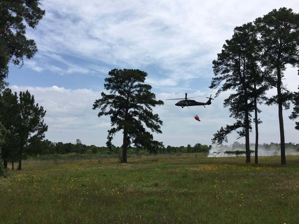 <p>     October 7, 2016—BASTROP, Texas—Firefighters from
