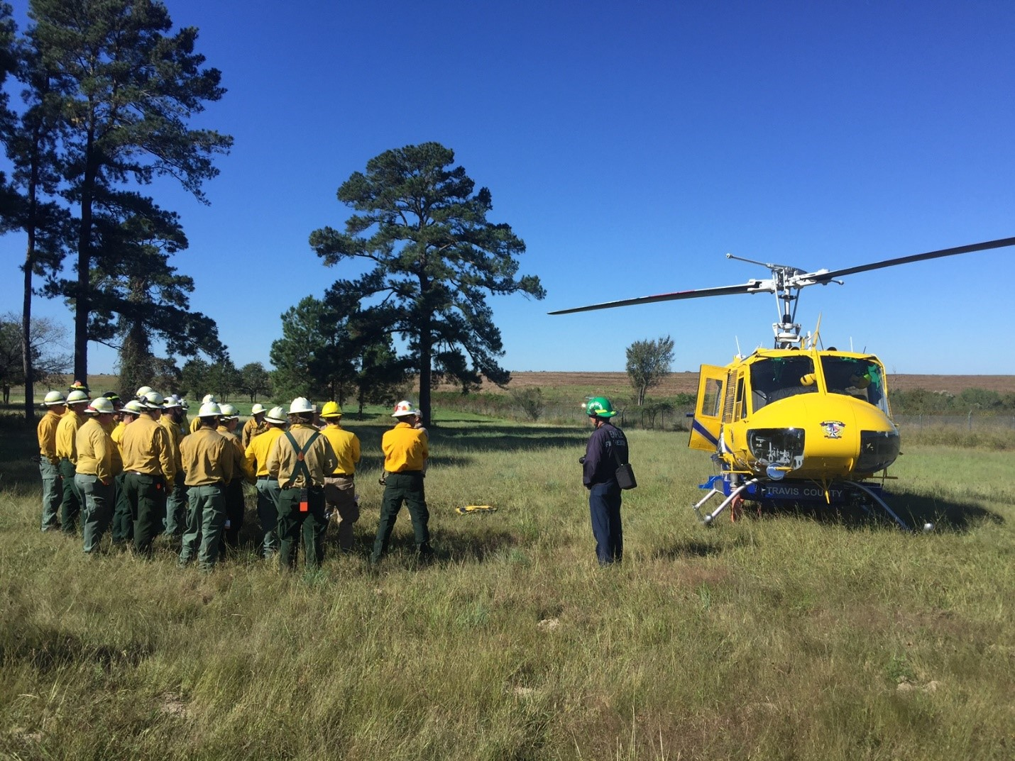 Wildland firefighters from around the country to attend wildfire academy in Bastrop