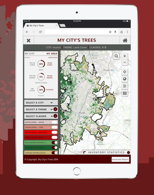 Austin trees – there's an app for that