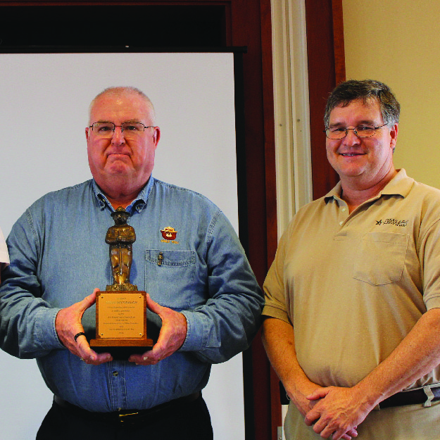 Texas A&M Forest Service employee receives prestigious Smokey Bear Award