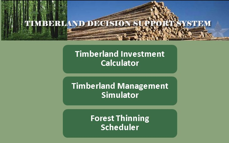 Timberland Decision Support System