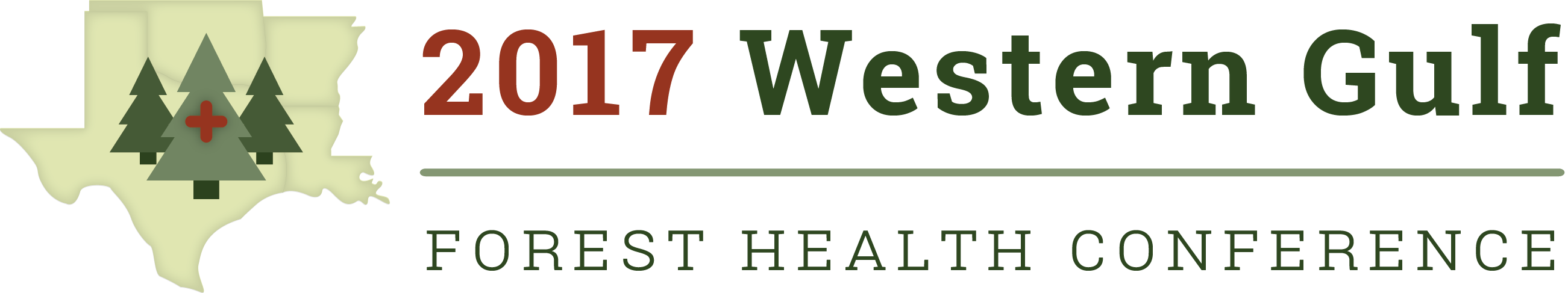 2017 Western Gulf Forest Health Conference Logo