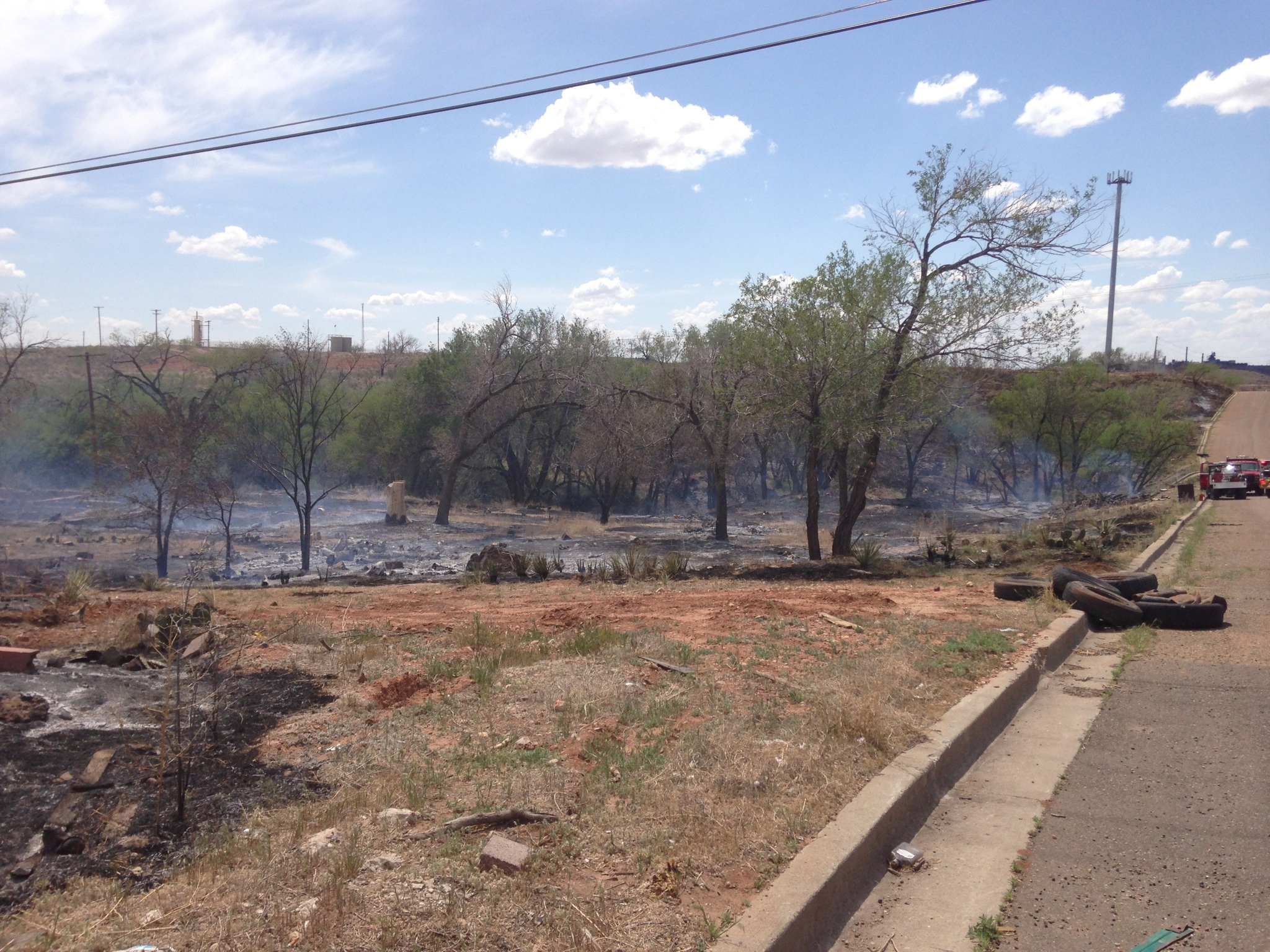 Borger using prescribed fire to reduce risk