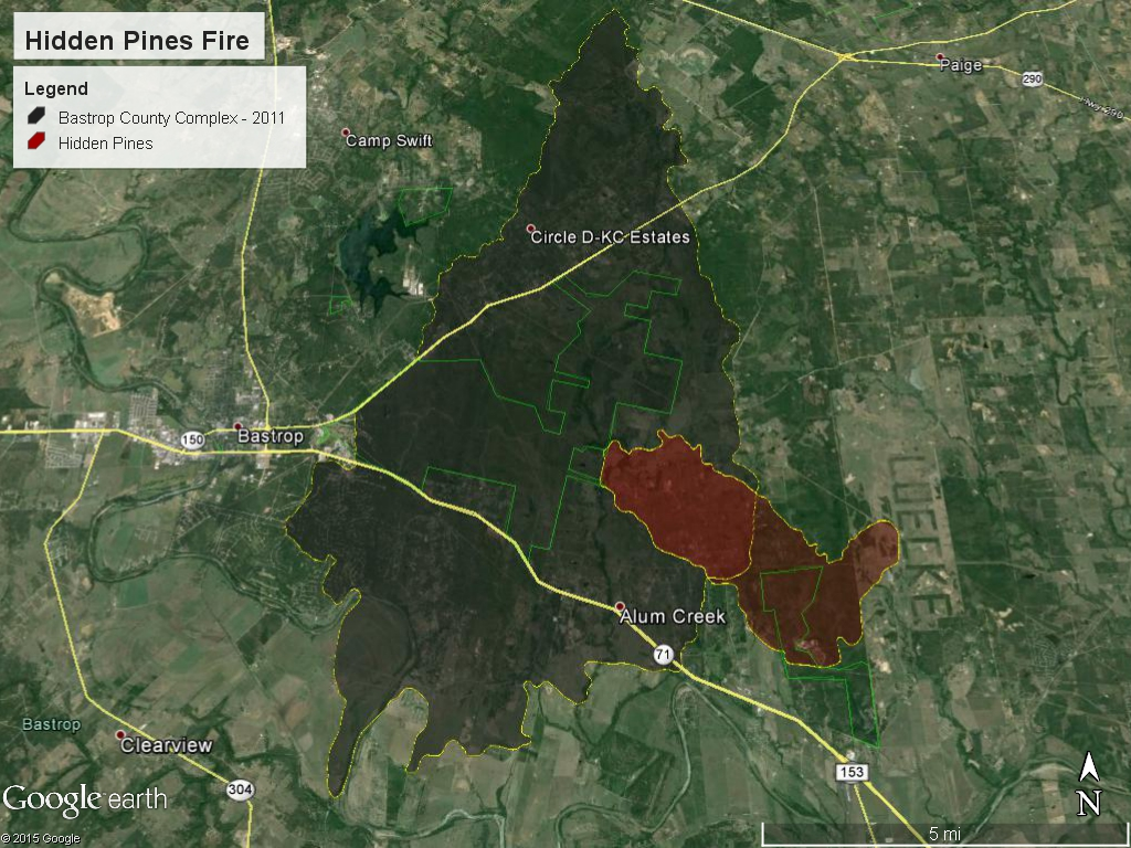 HiddenPinesFire Update: Power restored   Story | KRIV