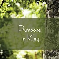 Purpose is Key