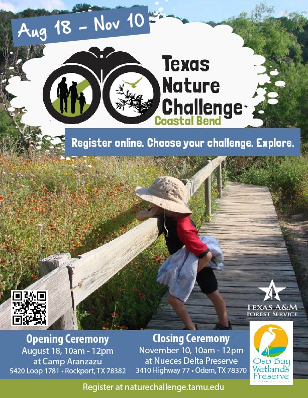 Coastal Bend Nature Challenge Flyer 2018_WITH ceremonies