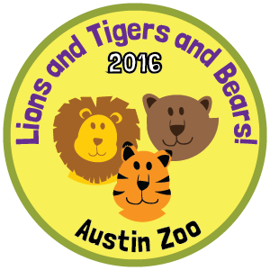 Austin Zoo badge