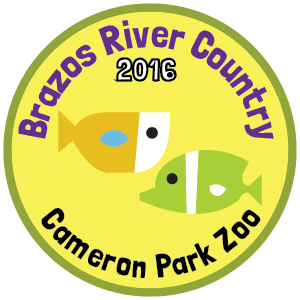 Cameron Park Zoo badge