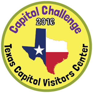TX Capitol badge