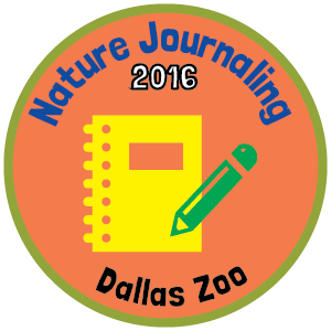 Dallas Zoo badge