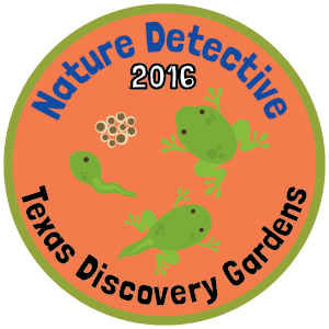 Texas Discovery Gardens badge